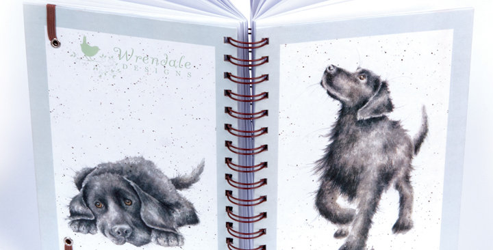 Wrendale Spiral A5 notebook