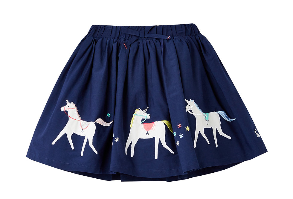 Joules Lexy Unicorn Skirt