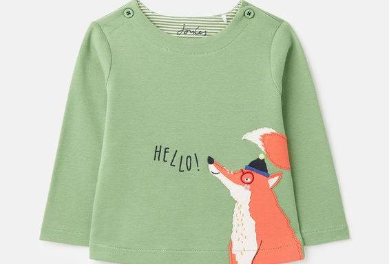 Joules Baby Angus Fox Design