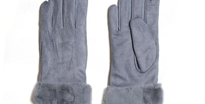 Miss Sparrow Grey Stella Gloves