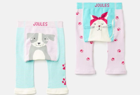 Joules Lively Leggings Cat Dog Paw