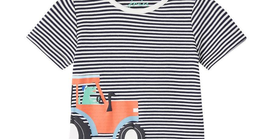 Joules Baby Ben Tractor T Shirt