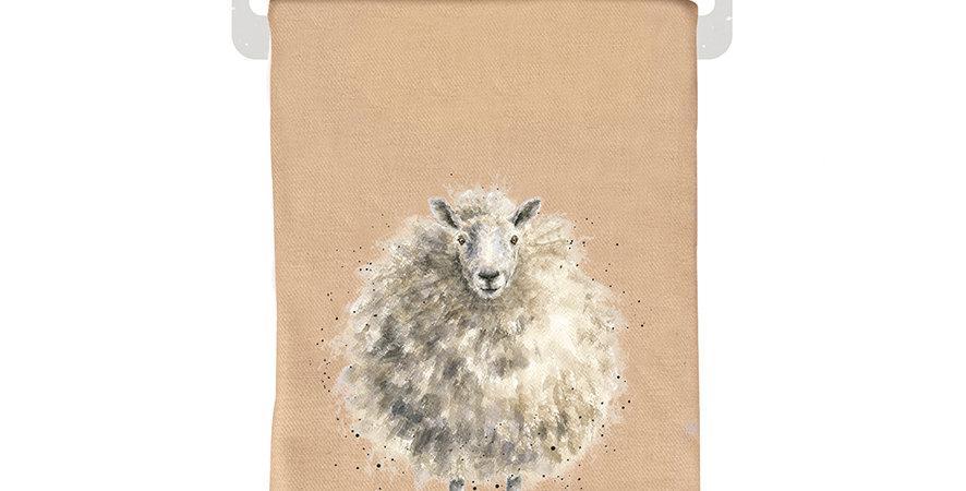 Wrendale Winter Scarf Sheep design