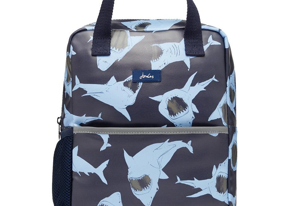Joules Adventure Backpack Blue Shark