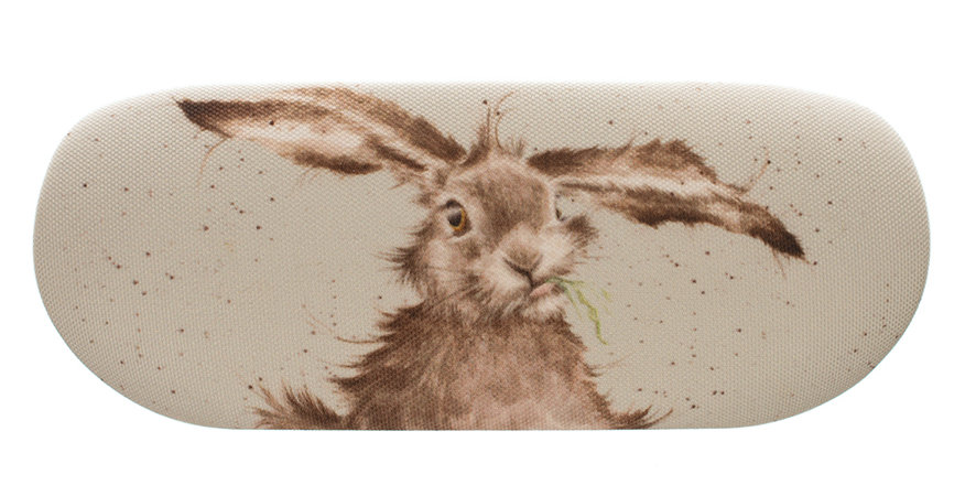 Wrendale Hare Brained Glasses Case