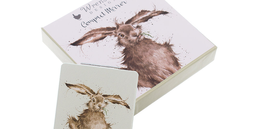 Wrendale Boxed Compact Mirror with Gift Bag