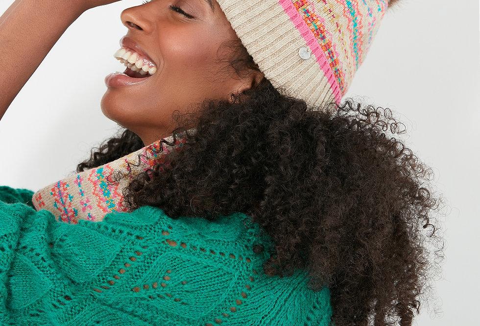 Joules Christina Fairisle Hat