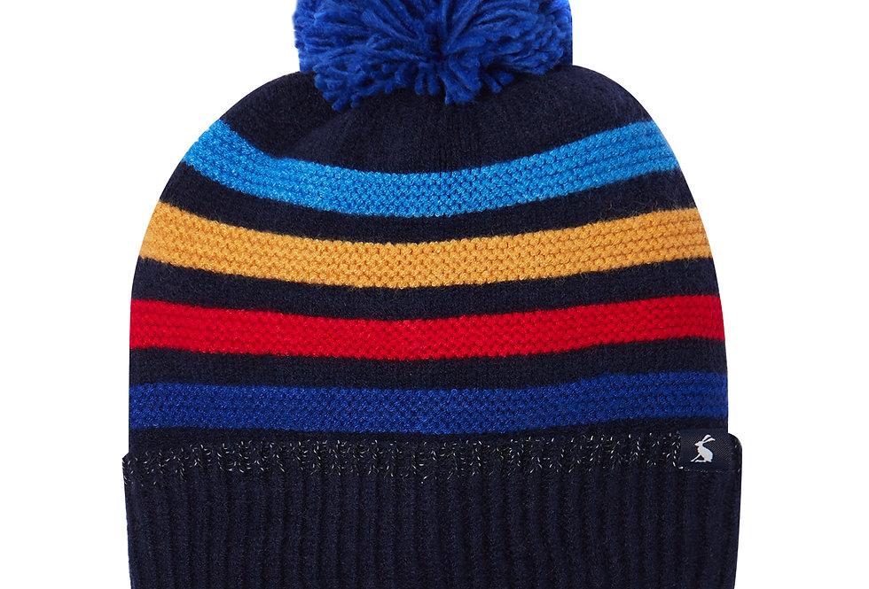 Joules Windaway Bobble Hat