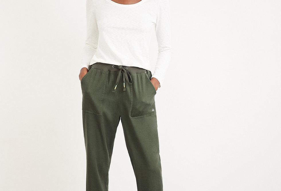 White Stuff Olivia Trouser Mid Green