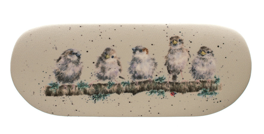 Wrendale Chirpy Chaps Glasses Case