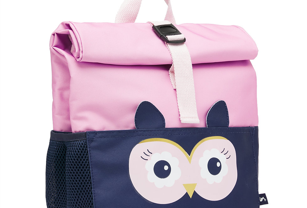 Joules Rolly Roll Top Back Pack Owl