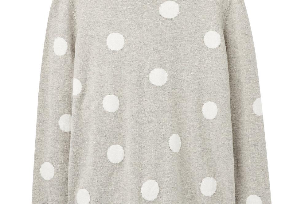 Joules Asha Jumper Grey Spot