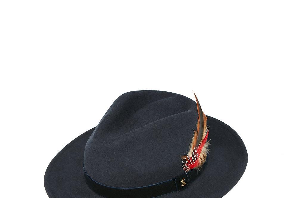 Joules Fedora Hat Navy