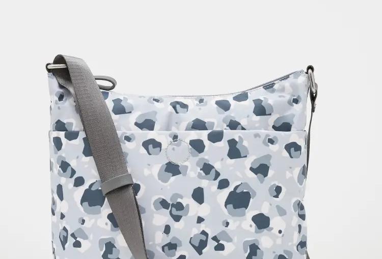 White Stuff Willow Nylon Printed Crossbody Bag
