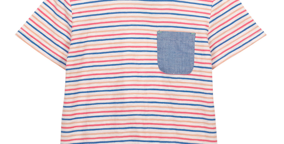 White Stuff Albie Striped Jersey Tee