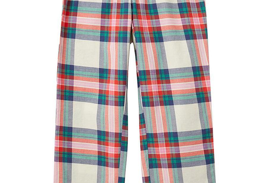 Joules Slumber Check Pyjama Bottoms