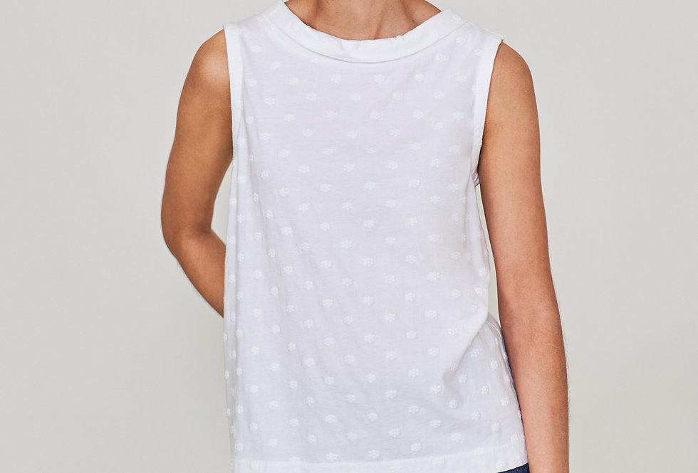 White Stuff Emb Petal Tank Vest