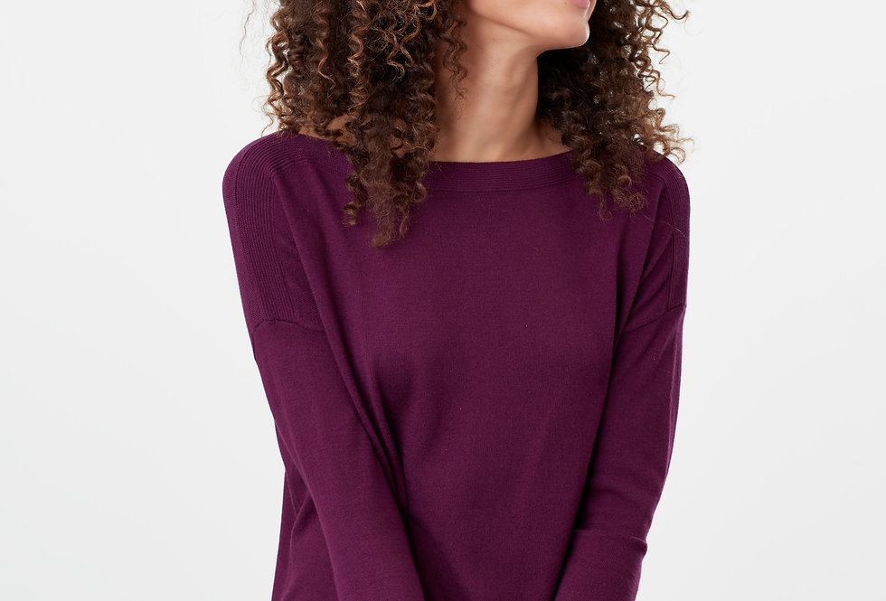 Joules Vivianna Jumper Purple