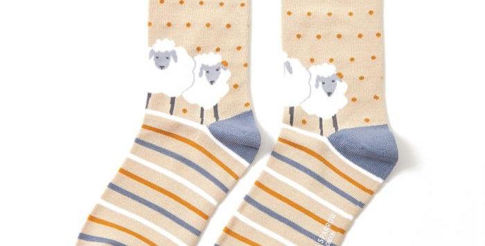 Miss Sparrow Sheep Bamboo  Socks