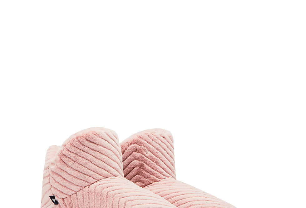 Joules Cabin Luxe Slipper Boots Soft Pink