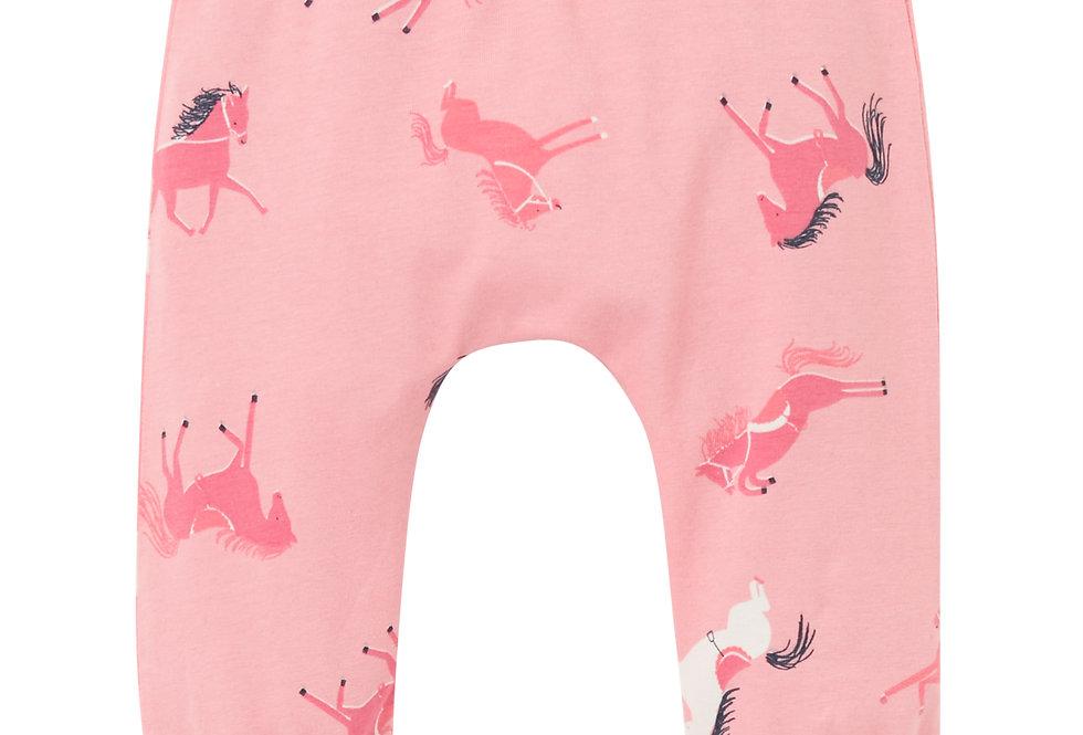 Joules Payton Pink Horse Leggings