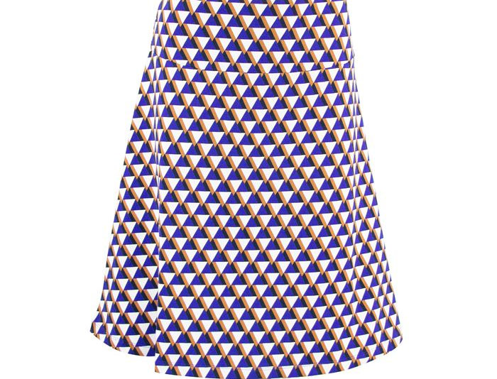 Zilch Jersey A-Line Skirt