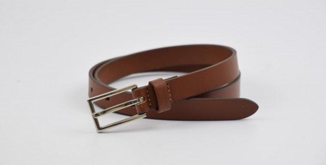 Charles Smith Ladies Leather Tan Belt