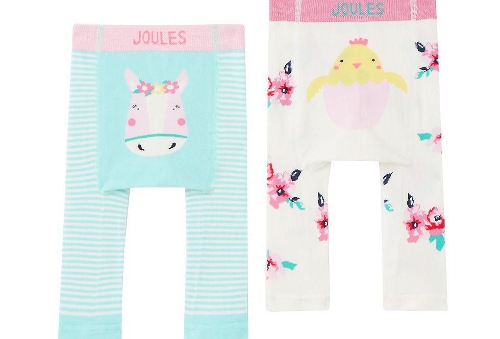 Joules Lively Leggings Horse and Chick