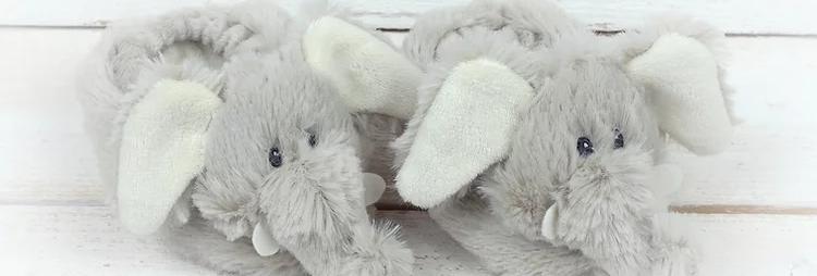 Jomanda Elephant Baby Slippers