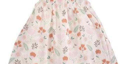 Pigeon Organics Organic Cotton Pink Floral Dress