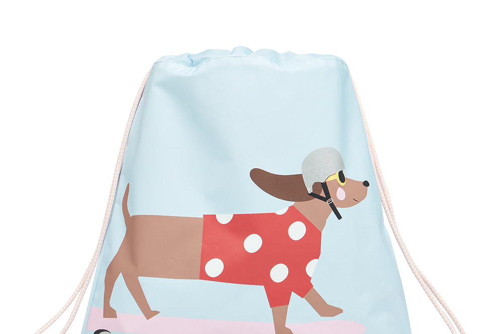 Joules Activity Bag Blue Dog