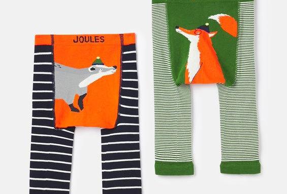 Joules Lively Leggings Badger Fox