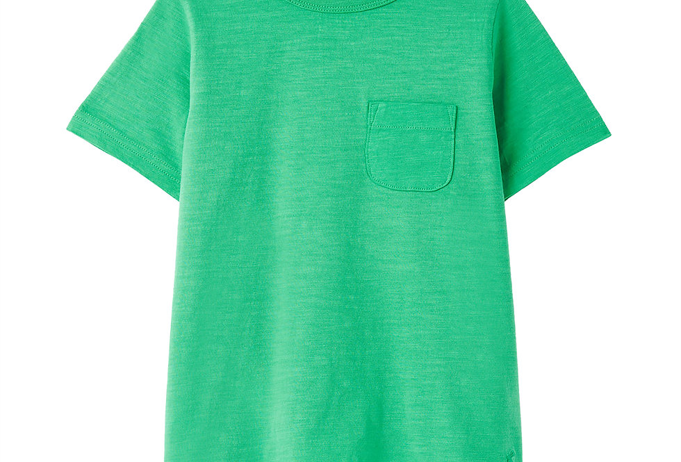 Joules Laundered Green Tee