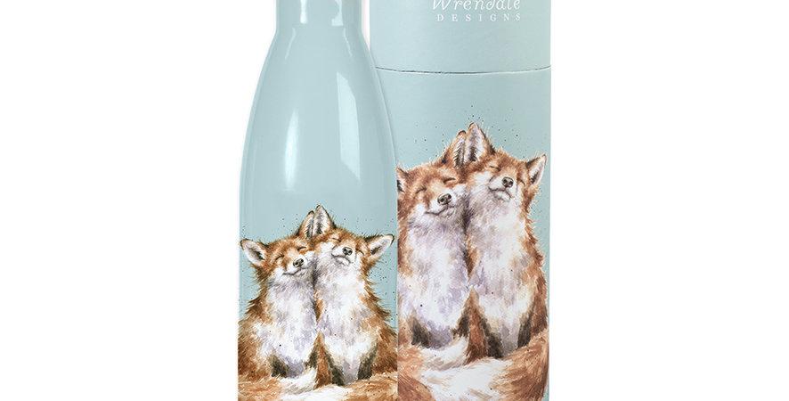 Wrendale Water Bottle Fox Design