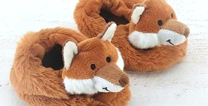 Jomanda Fox Baby Slippers