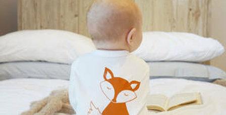Fox Baby Sleepsuit