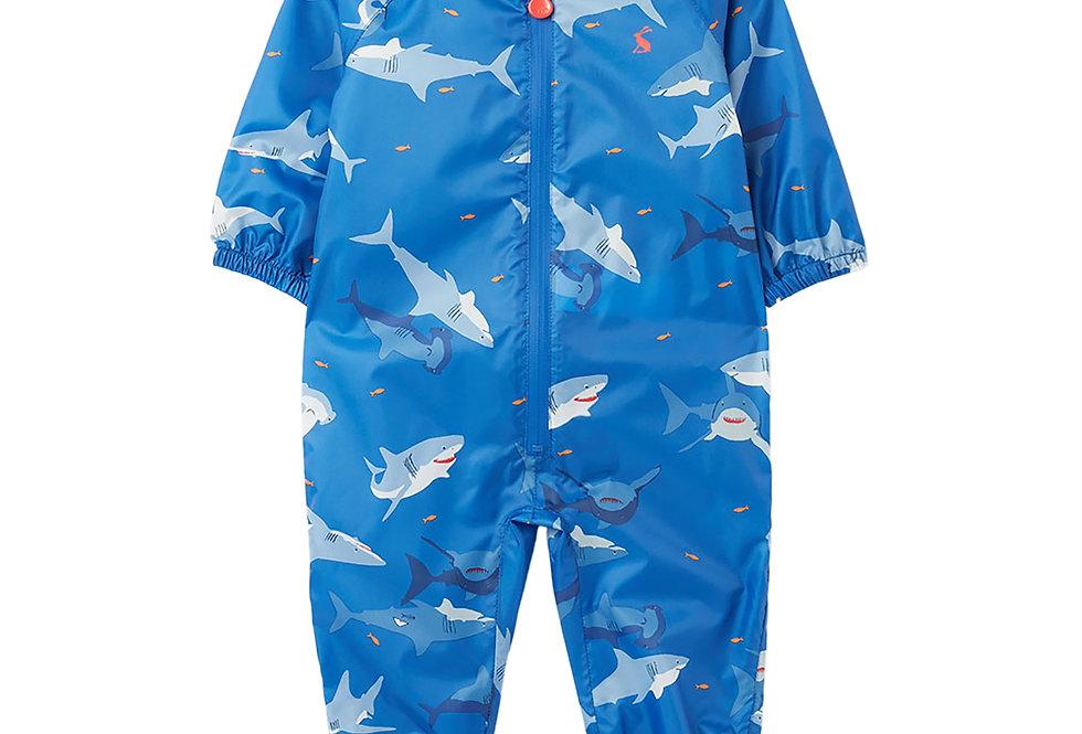 Joules Shark Design Puddle Suit