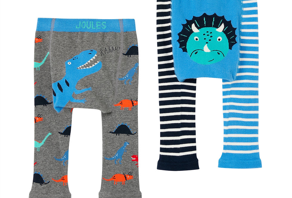 Joules Lively Leggings Multi Dino