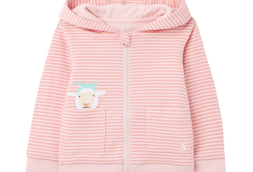 Joules Tenley Pink Sheep Hoodie