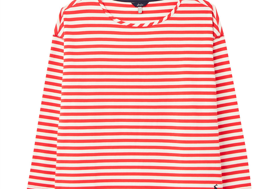 Joules Marina Red Stripe Top