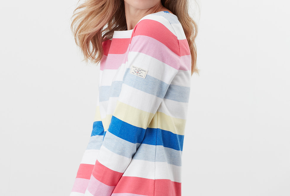 Joules Harbour Stripe Top Long Sleeve
