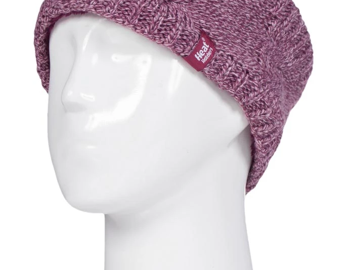 Heat Holders Rose Faux Fur lined Headband