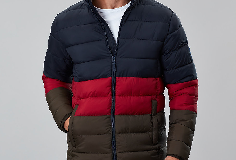 Joules Go To Padded Jacket Navy