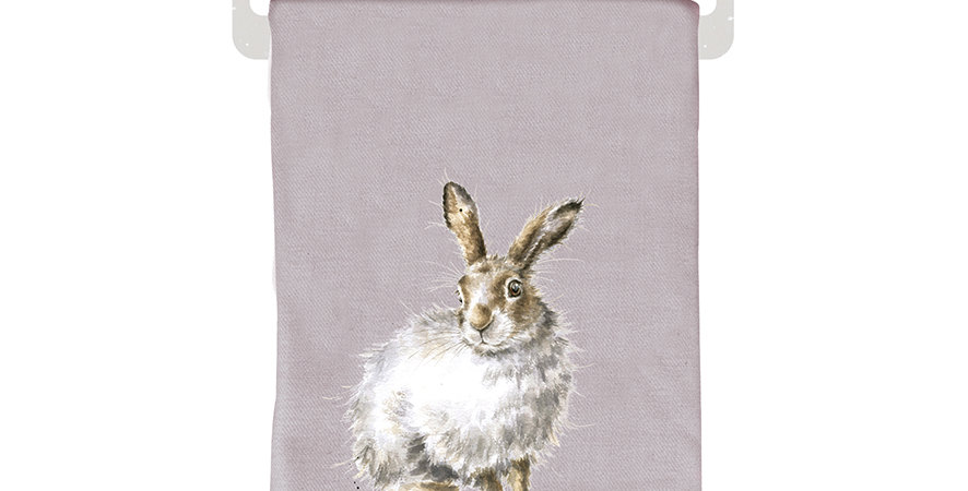 Wrendale Winter Scarf Hare design