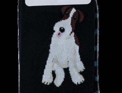 Mr Heron Fox Terrier Socks