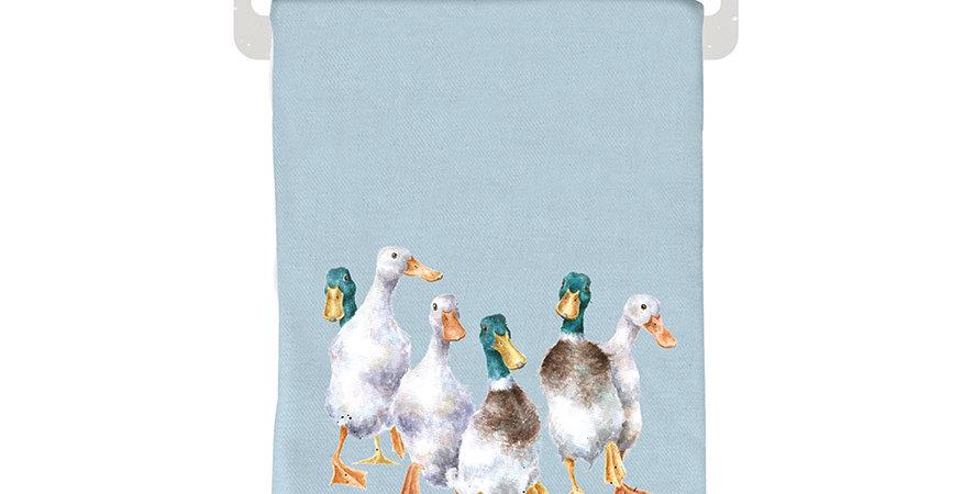 Wrendale Winter Scarf Duck design