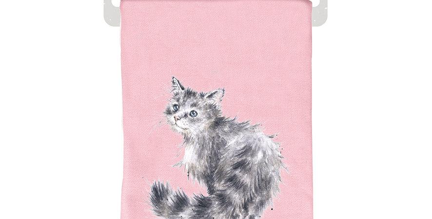 Wrendale Winter Scarf Cat design