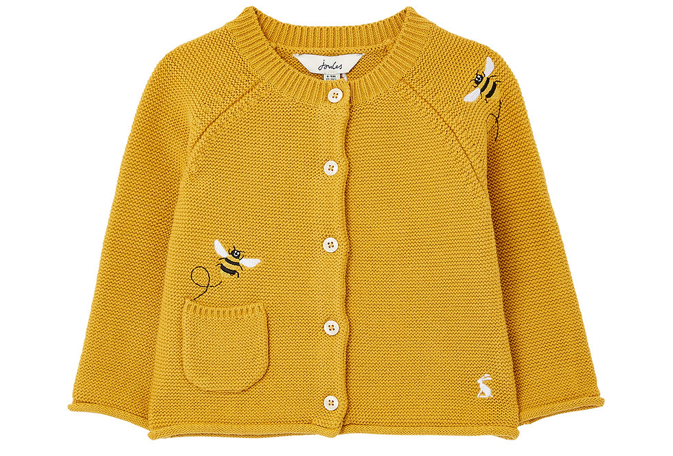 Joules Betsie Embroidered Cardigan