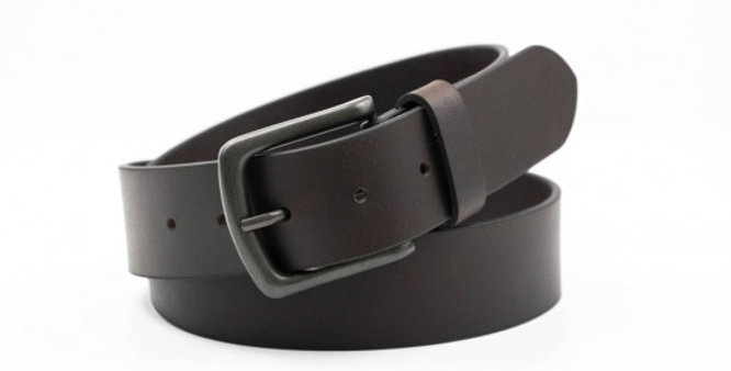 Charles Smith Men's Leather Brown Belt