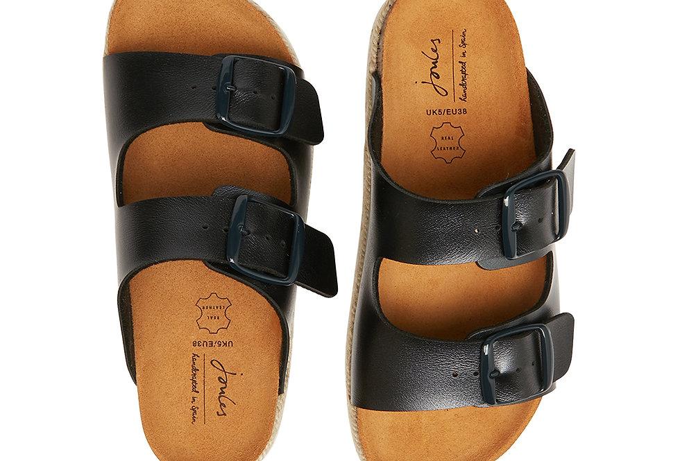 Joules Reina Slider Metallic Sandals